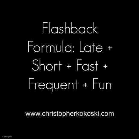 Flashback Formula